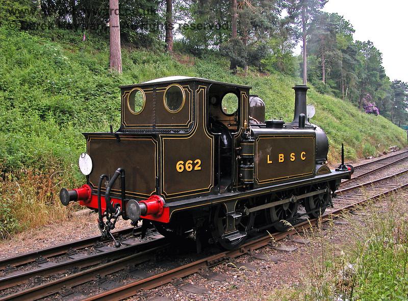 662 Martello running round at Groombridge. 18.06.2006