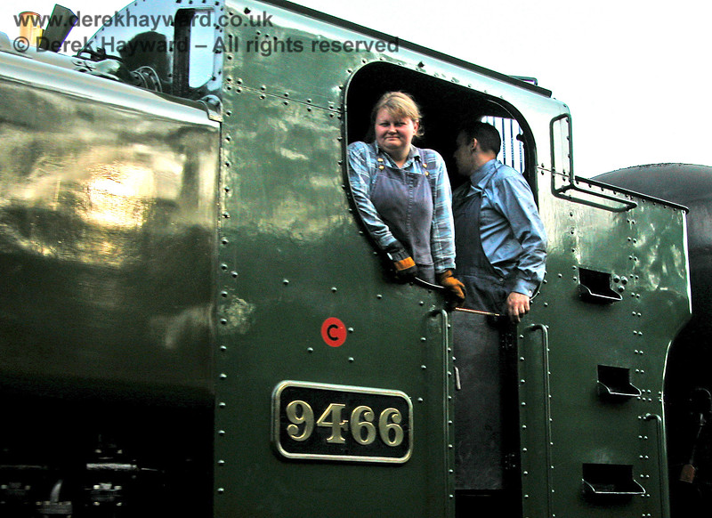 The crew of 9466 at Birchden. 17.09.2006