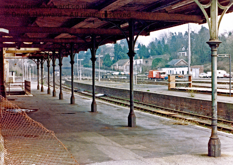 Tunbridge Wells West Station, pictured shortly after closure in 1985.  Nick Mander retains all rights to this image.