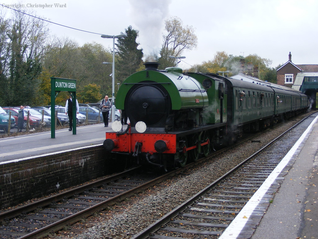 Ugly waits to depart for Westerham