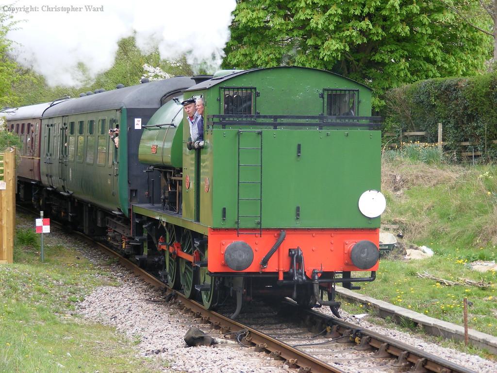 Ugly arrives from Tunbridge Wells