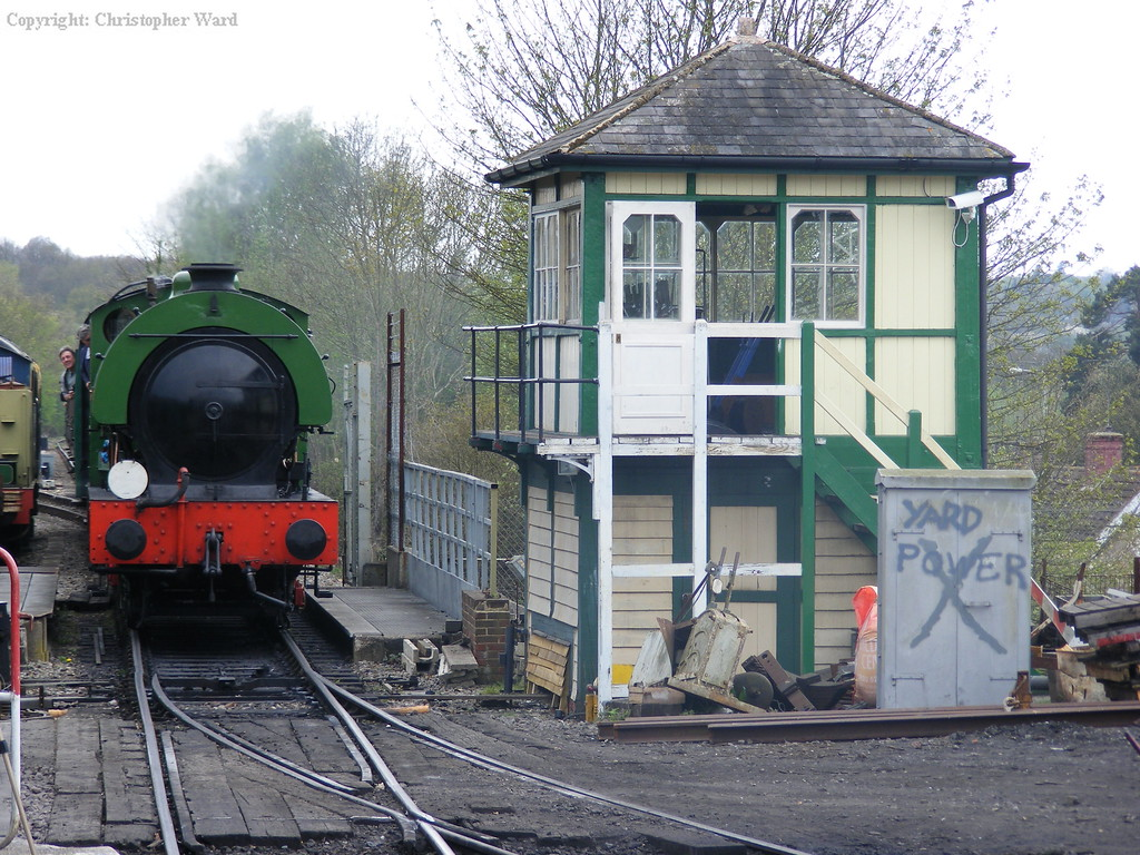 Ugly passes the signalbox