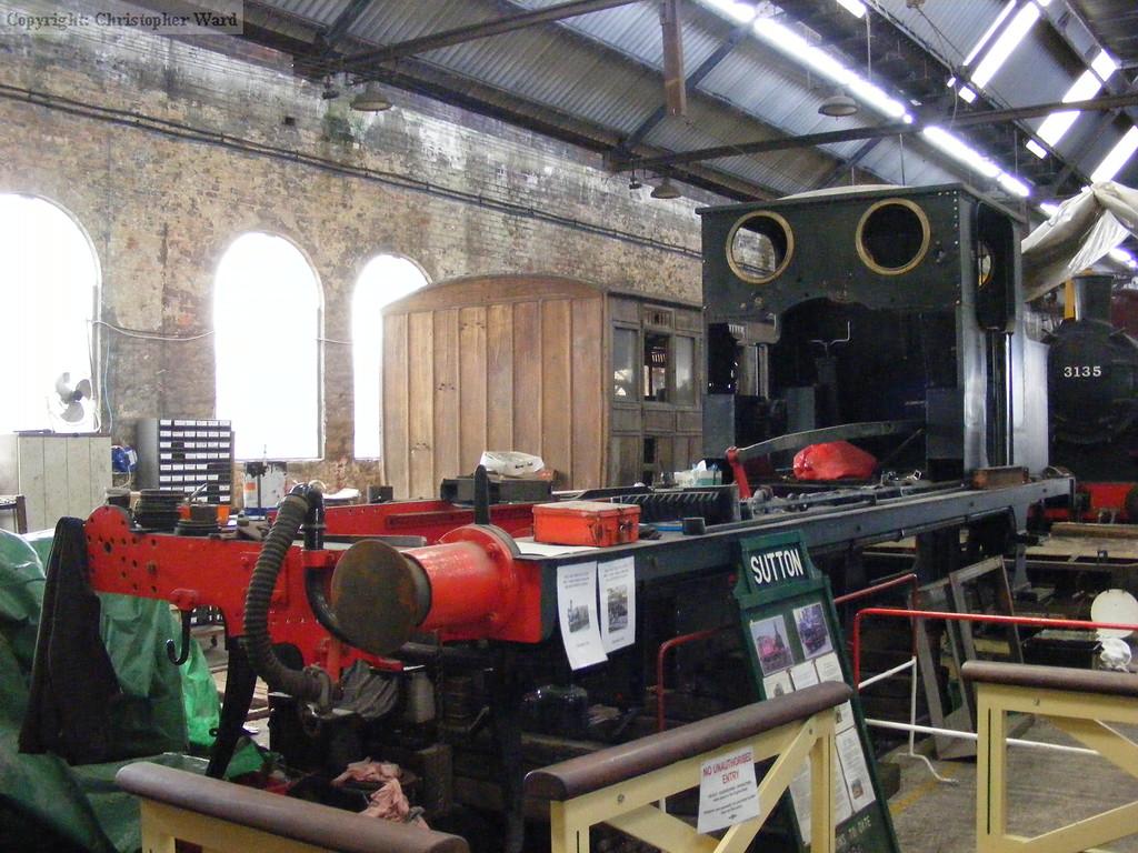 Sutton undergoing overhaul