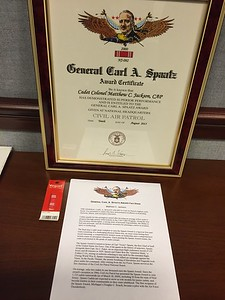Air Force Chief of Staff Gen. Mark A. Welsh III presents Gen. Spaatz Award Presentation