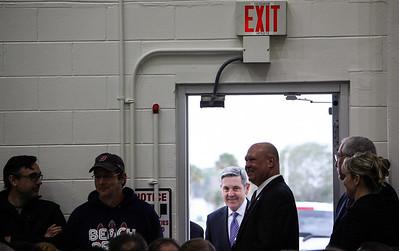 2PM - Bob Cabana, director NASA Kennedy Space Center, arrives