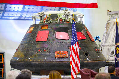 1:40PM - Orion capsule after its maiden unmanned mission