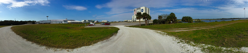 10AM - Press building & VAB panorama from the turning basin