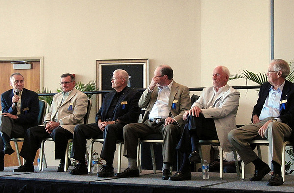 2011 HOF Induction Lunch with 6 Apollo Astronauts