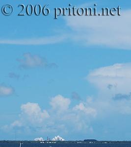 Space Shutttle Discover<br /> 07/04/06 @ 1437 hrs<br /> Titusville, FL <br /> Riverside Ave