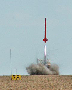 Argonia, KS rocket launch festival