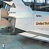 Thrusters and Space Shuttle Enterprise