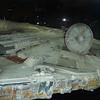 Dish atop Han Solo's ship, the Millennium Falcon.