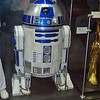R2D2 is one of only four characters to appear in all six Star Wars films. He's the usual companion of C3P0.