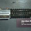 Obi-Wan kenobi's lightsaber.