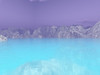 An imaginary planet with cold water and icy mountains. #SPACE-1