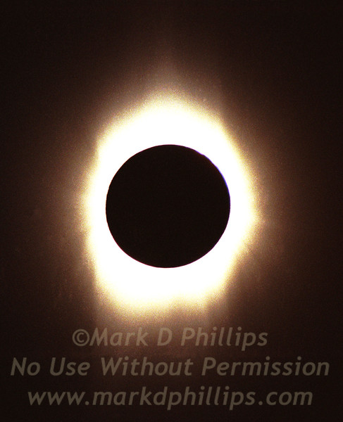 Total Solar Eclipse of February 1998 in Aruba