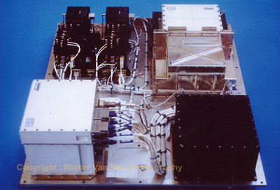 The fully integrated Attached Payload of LLMS.