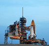 Space Shuttle Atlantis sits on launch pad 39A for the last time. When it returns from the Space Station in July 2011, it will mark the end of the shuttle program.