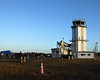 This is the air traffic control tower and media tower at the shuttle landing facility, the runway is just to the left a couple hundred yards.