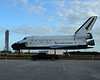 This is Explorer, a exact duplicate of the Space Shuttle used for training.