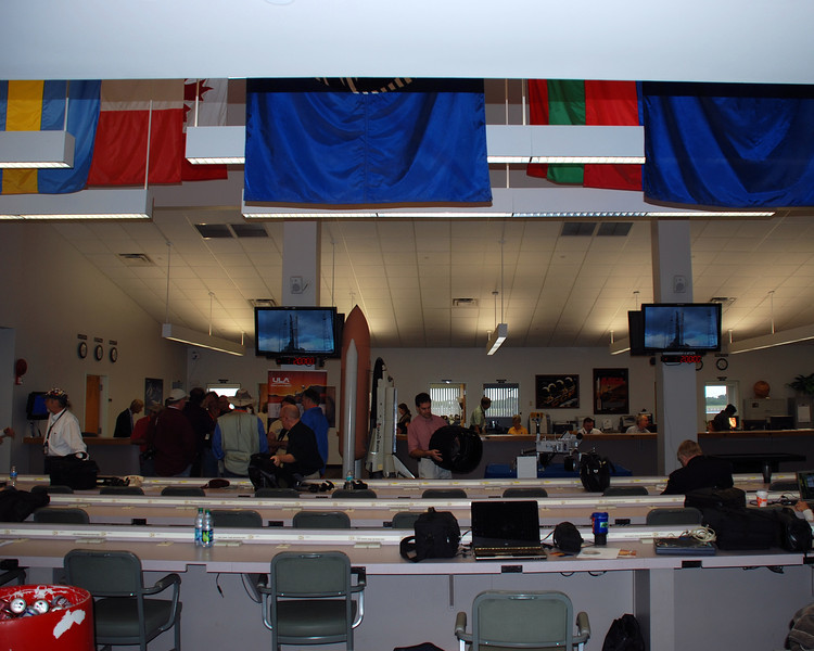 The press room.