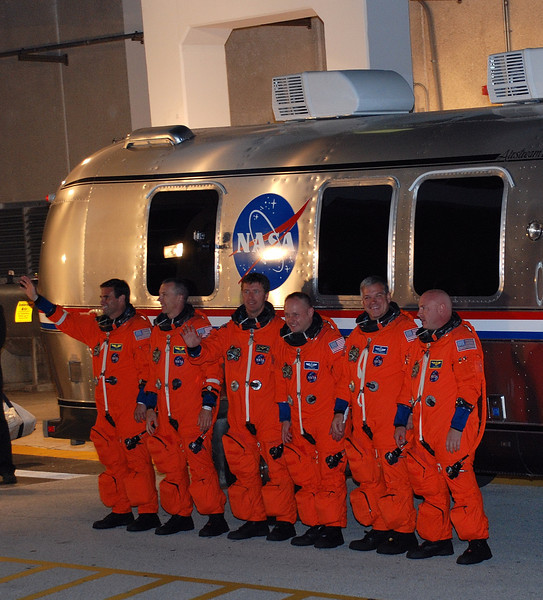 Crew of Shuttle Endeavour