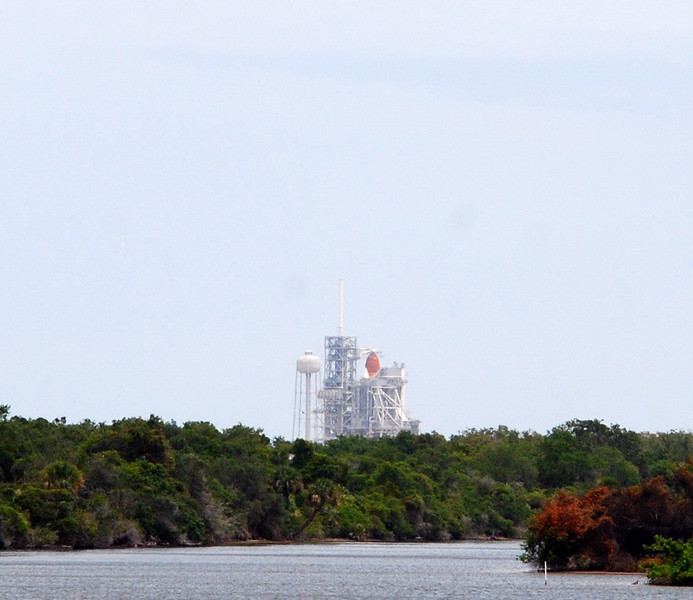 Endeavour on pad waiting for repair assessment, tentative launch date is 5-2-11 at 2:30p.m.   Stay Tuned.......