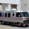 STS-134 crew transport vehicle.