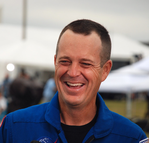Ricky Arnold II, crew member of  Shuttle Discovery,  STS -119