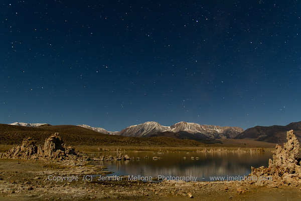 Stars over Mono Lake