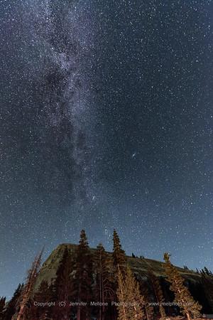Milky Way over Lembert Dome, Tuolumne Meadows, Yosemite