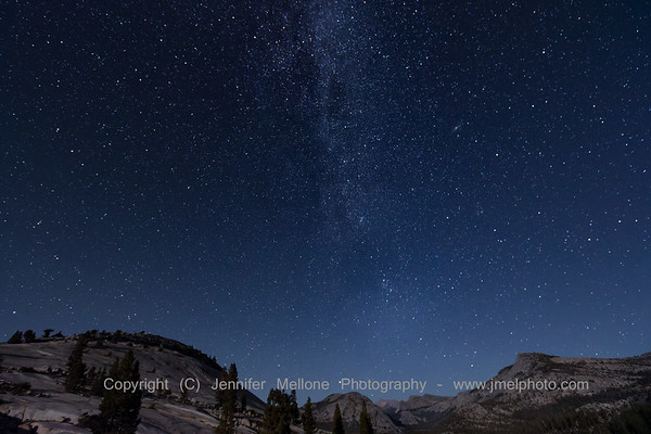 Milky Way Makes an Appearance at Olmstead Point in Yosemite