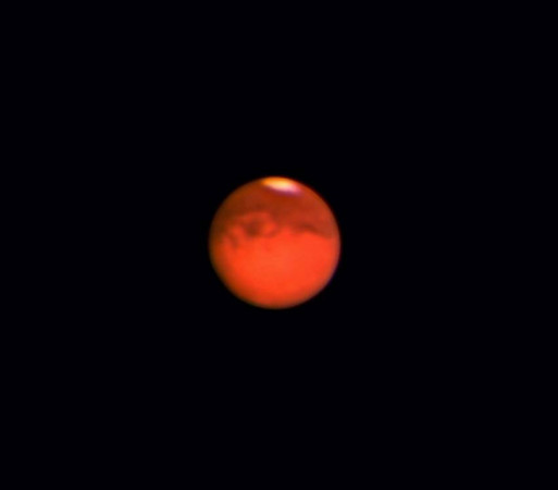Mars: although we never really focused on taking many planetary images, here is one that we had to do.