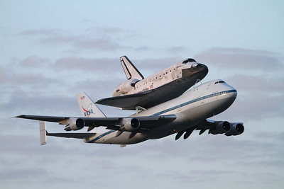 Discovery Flyout and Apollo 16 40th Anniversary