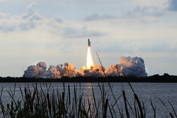 May 16, 2011 at 8:56 AM - Space Shuttle Endeavor STS-134 launches into orbit for the final time.