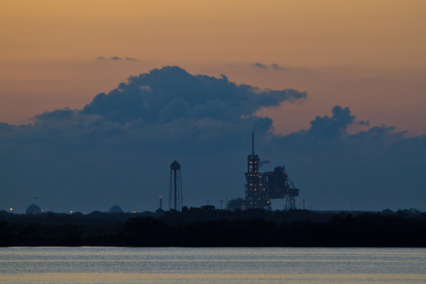 Launch Pad 39a at 6:28 AM
