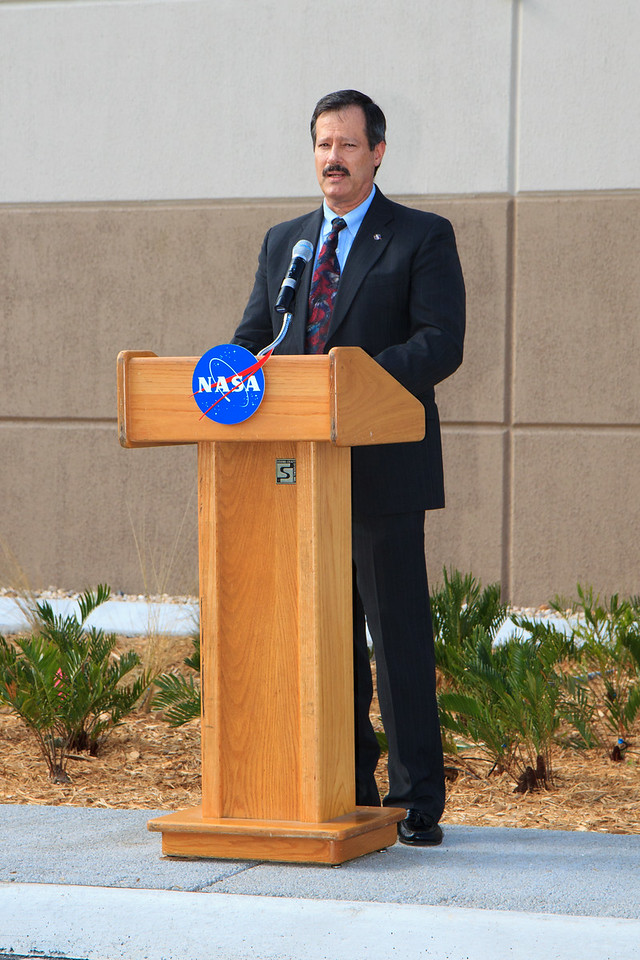 Mike Benik, Director of Center Operations at Kennedy Space Center