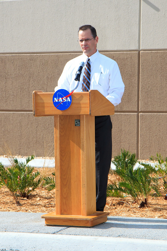 James Wright, Deputy Assistant Administrator fo rthe Office of Strategic Infrastructure NASA Headquarters
