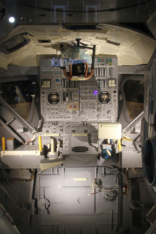 Apollo Lunar Module Cockpit