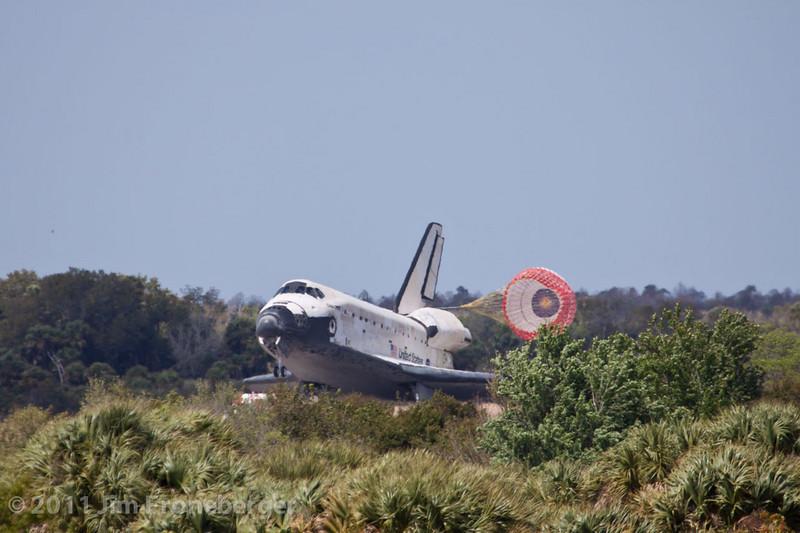 Drag chute deployment