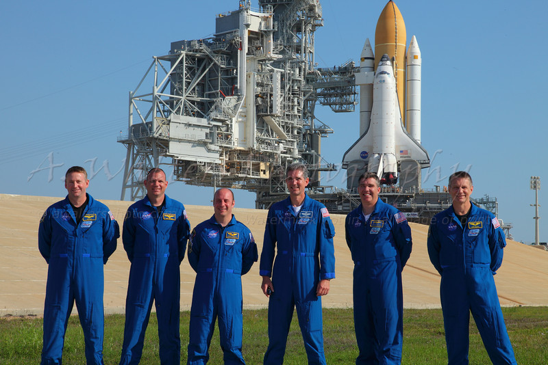 STS 132 Q and A after rollout - Atlantis