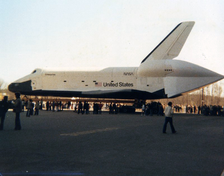 These were taken in April 1978 in Huntsville, Al. This was the first public showing of the Enterprise.
