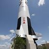Replica of Saturn V