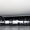 Saturn V model below real Saturn V