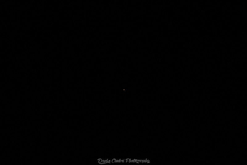Pianeta o stella molto luminosa verso 195°S