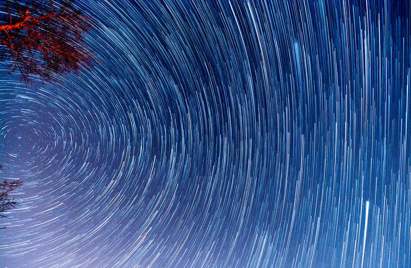 Star Trails Over Farmingdale, NJ