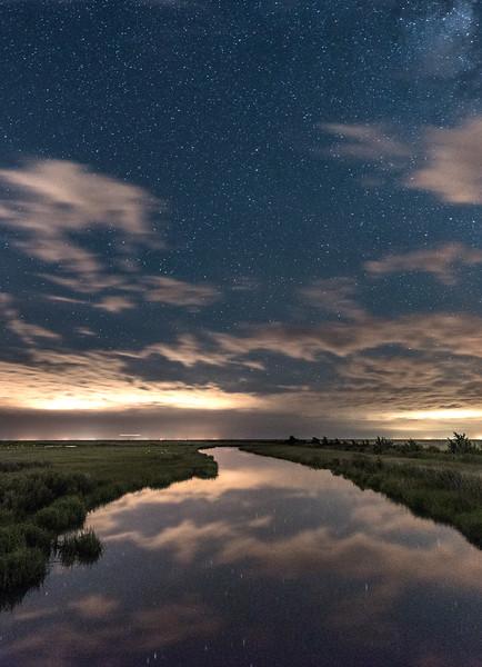 Starry Night Over Marshlands 6/26/17