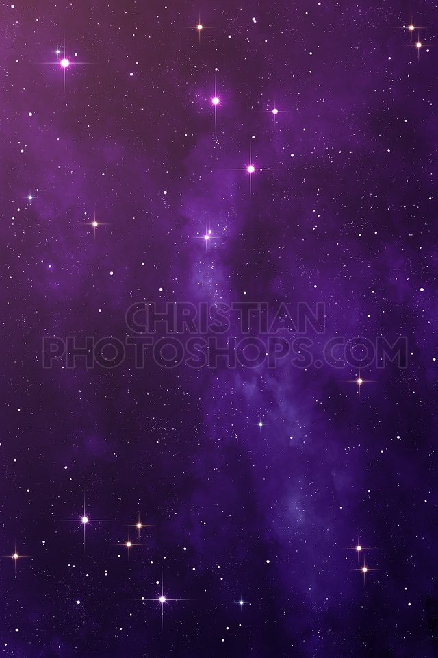 Purple Nebula space background