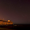Orion Rising Over Pier at Belmar, NJ