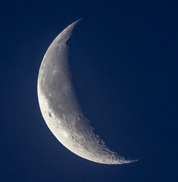 Waning Crescent Moon 2/21/17